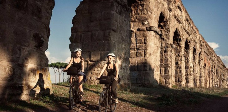 Rome bike rental tour