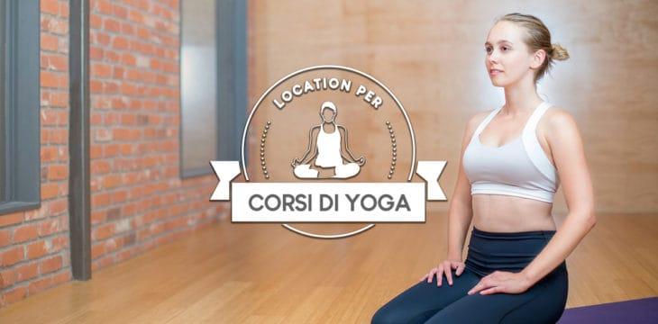 Le migliori location per corsi di yoga
