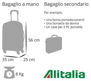 Vendita calda 2019 pregevole fattura in vendita online Bagaglio a mano Alitalia: tutto le normative che devi conoscere