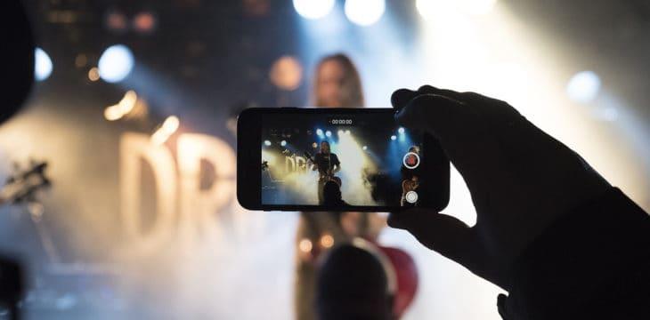 filmare un evento