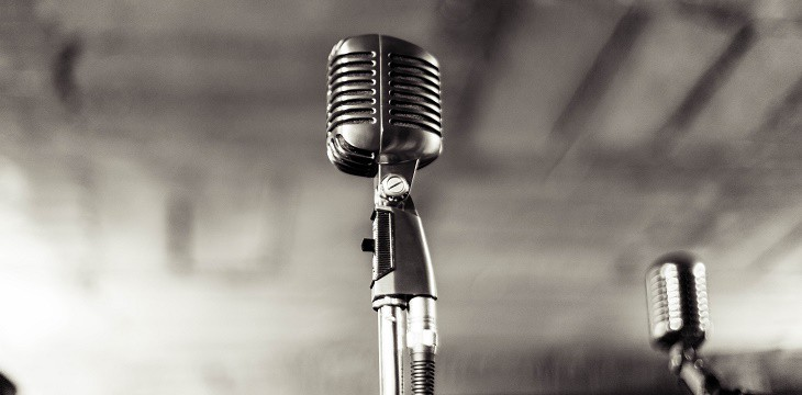 microfono per pubblico vendita