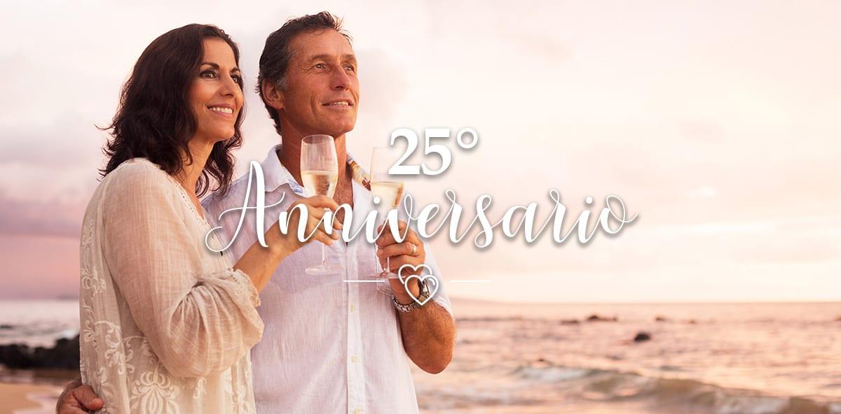 6dfee9912 25 anni di matrimonio: come e dove festeggiare le nozze d'argento