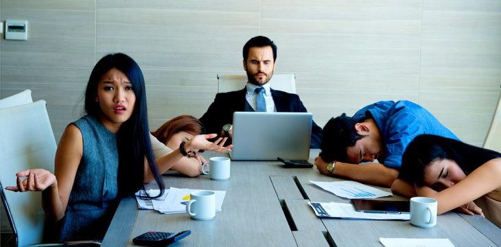 La sporca verità riguardo le riunioni di lavoro