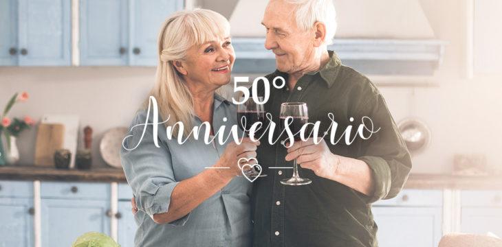 Come festeggiare le nozze d'oro: celebra al meglio i 50 anni di matrimonio