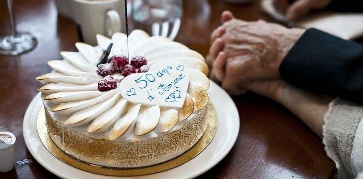 Dolci Per Anniversario Di Matrimonio.Torte 50 Anniversario Di Matrimonio Idee Per Le Nozze D Oro