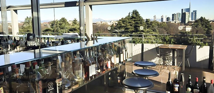 Aperitivo in terrazza a Milano...location over the top!