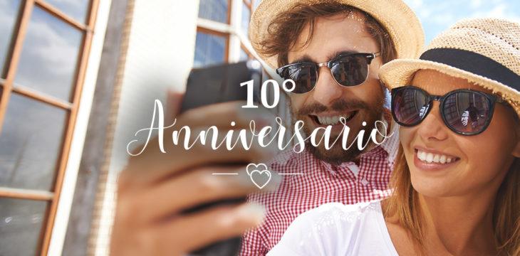 Come festeggiare l'Anniversario di 10 anni di matrimonio