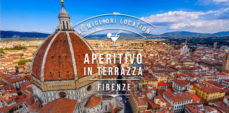Aperitivo in terrazza a Firenze