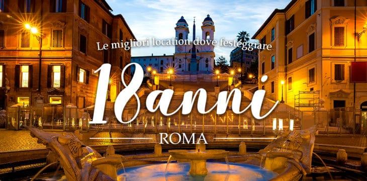 18 ANNI ROMA