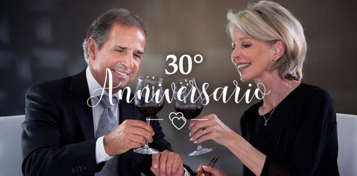 30 anni di matrimonio: come festeggiarli?