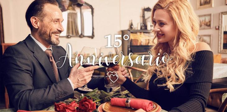 15 anni di matrimonio