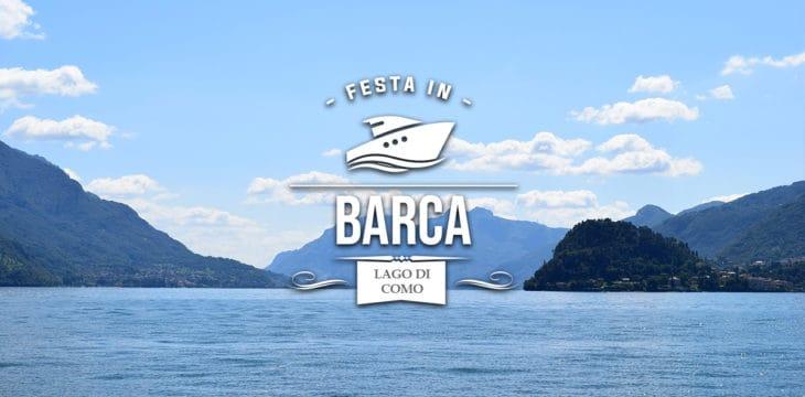Festa in barca sul Lago di Como