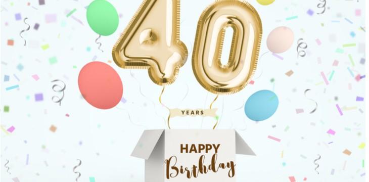 frasi di compleanno 40-anni