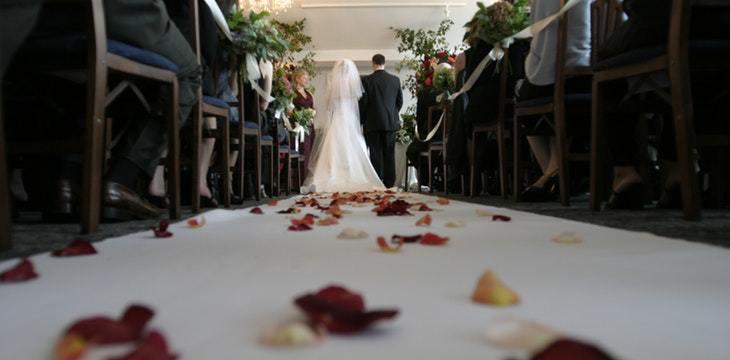matrimonio fatto da un wedding designer
