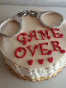 torta game over chiara per nubilato