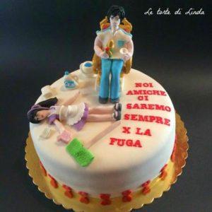 torta delle amiche della sposa