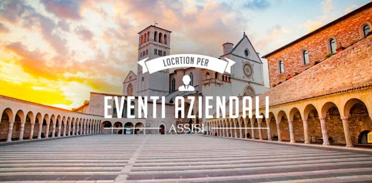 Location per eventi aziendali ad Assisi