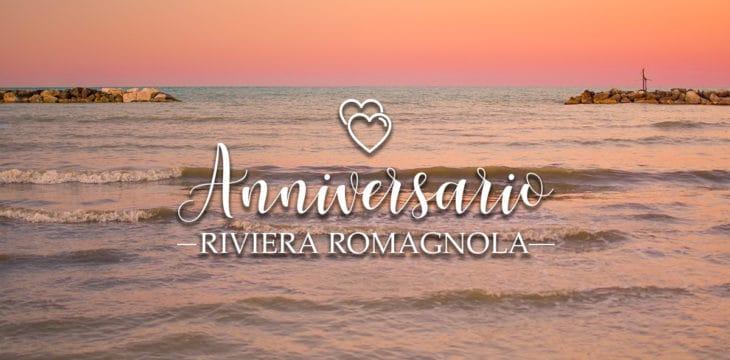 anniversario di matrimonio nella Riviera Romagnola