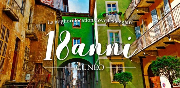 18 anni a Cuneo e provincia