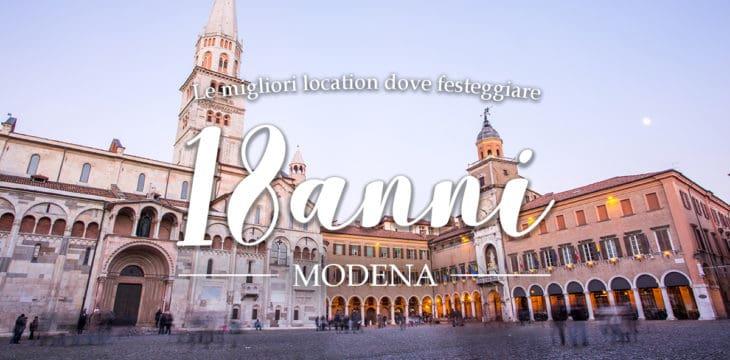 Festa 18 anni Modena
