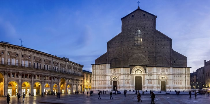 Basilica di San Petronio in Piazza Grande a Bologna