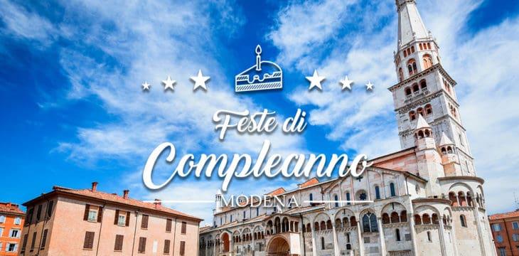 Festa di compleanno a Modena
