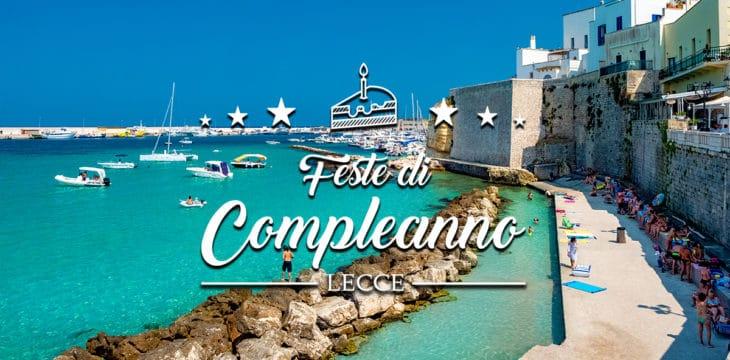 Compleanno a Lecce