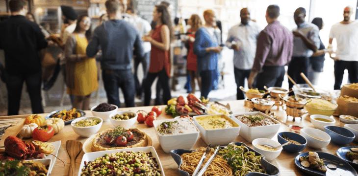 organizzare catering