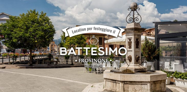 Battesimo a Frosinone