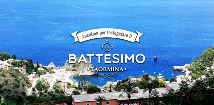 Battesimo a Taormina
