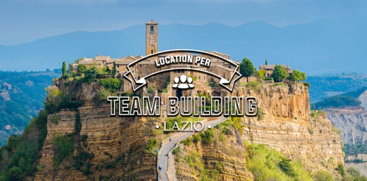 location per team building Lazio