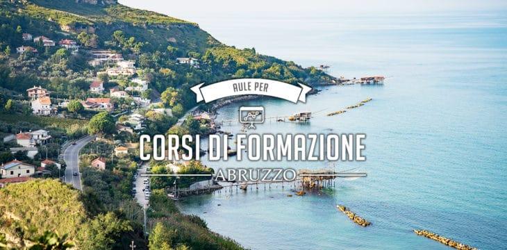 Aule per corsi di formazione in Abruzzo