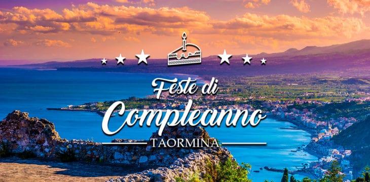 Compleanno a Taormina