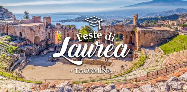 Festa di laurea a Taormina