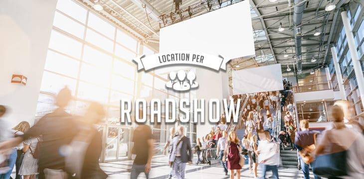 Roadshow in Italia: scopri la location perfetta per il tuo evento