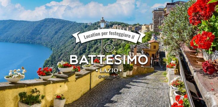 Battesimo nel Lazio