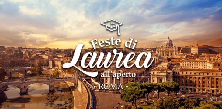 Feste di laurea all'aperto a Roma