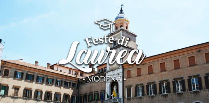 Festa di laurea a Modena