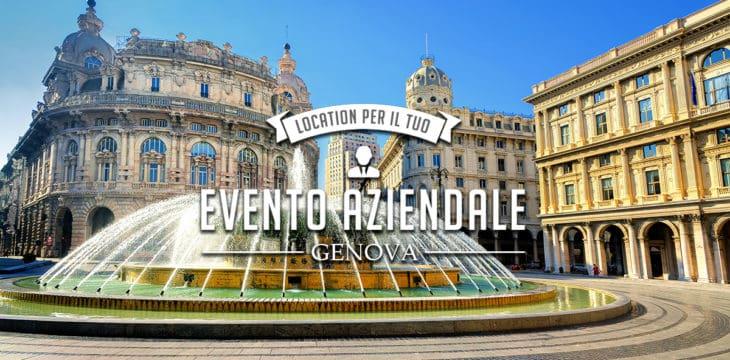 Evento aziendale a Genova