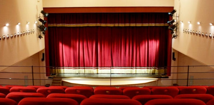 Parioli Theatre Club: Sala allestita