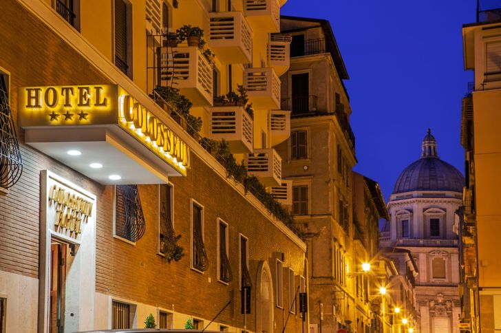Hotel Colosseum foto 1