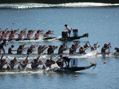 Services for Meeting and Events Rome - Dragon Boat Experience