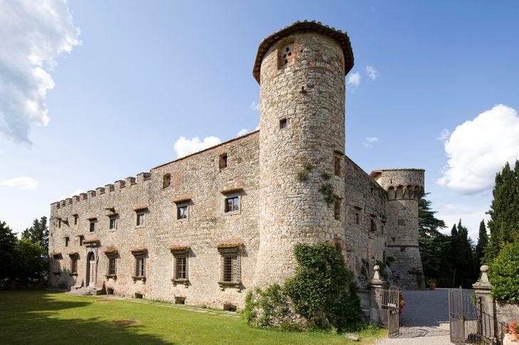 Castello di Meleto foto 1
