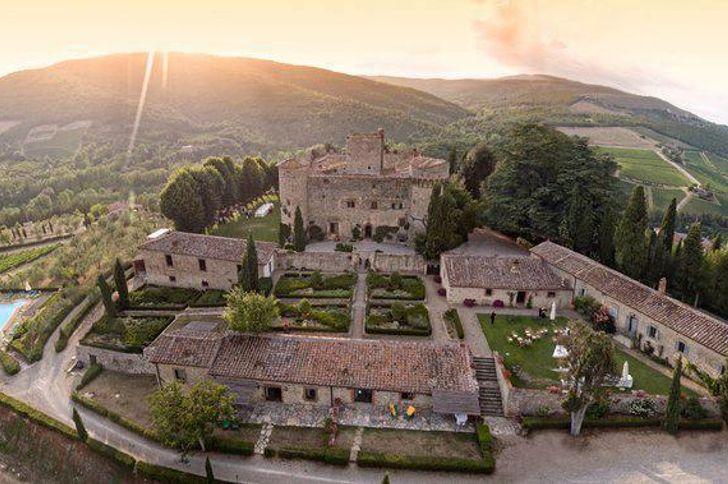 Castello di Meleto foto 2