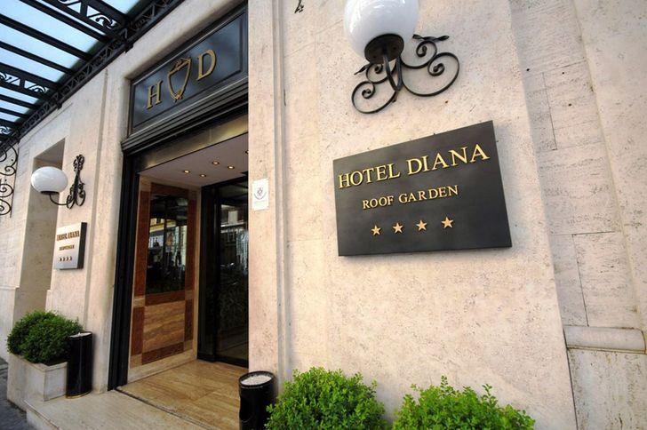 Hotel Diana Roof Garden foto 1