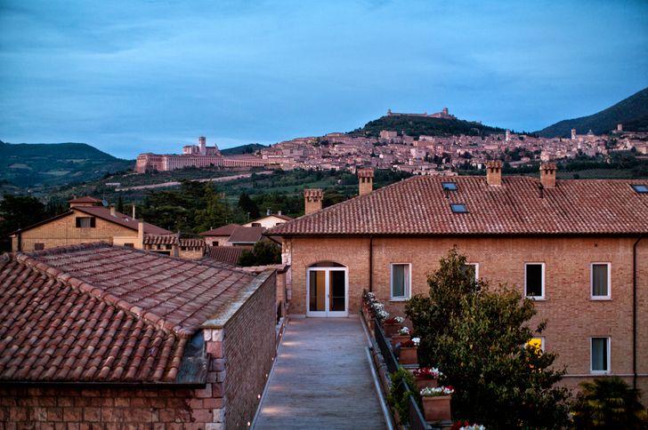 Hotel Cenacolo Assisi foto 2