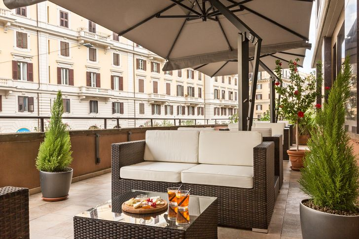 Hotel Beverly Hills Rome foto 3