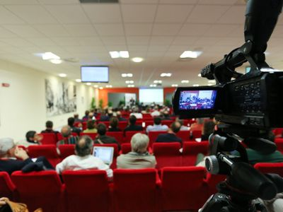 Services for Meeting and Events Rome - Cleverage - Streaming Live e Service Multimediale