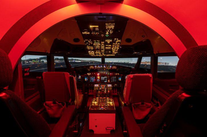 Centro di simulazione di volo Bergamo foto 1