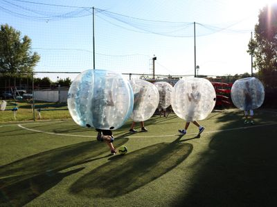 Services for Meeting and Events Milan - Bubble Football Milano